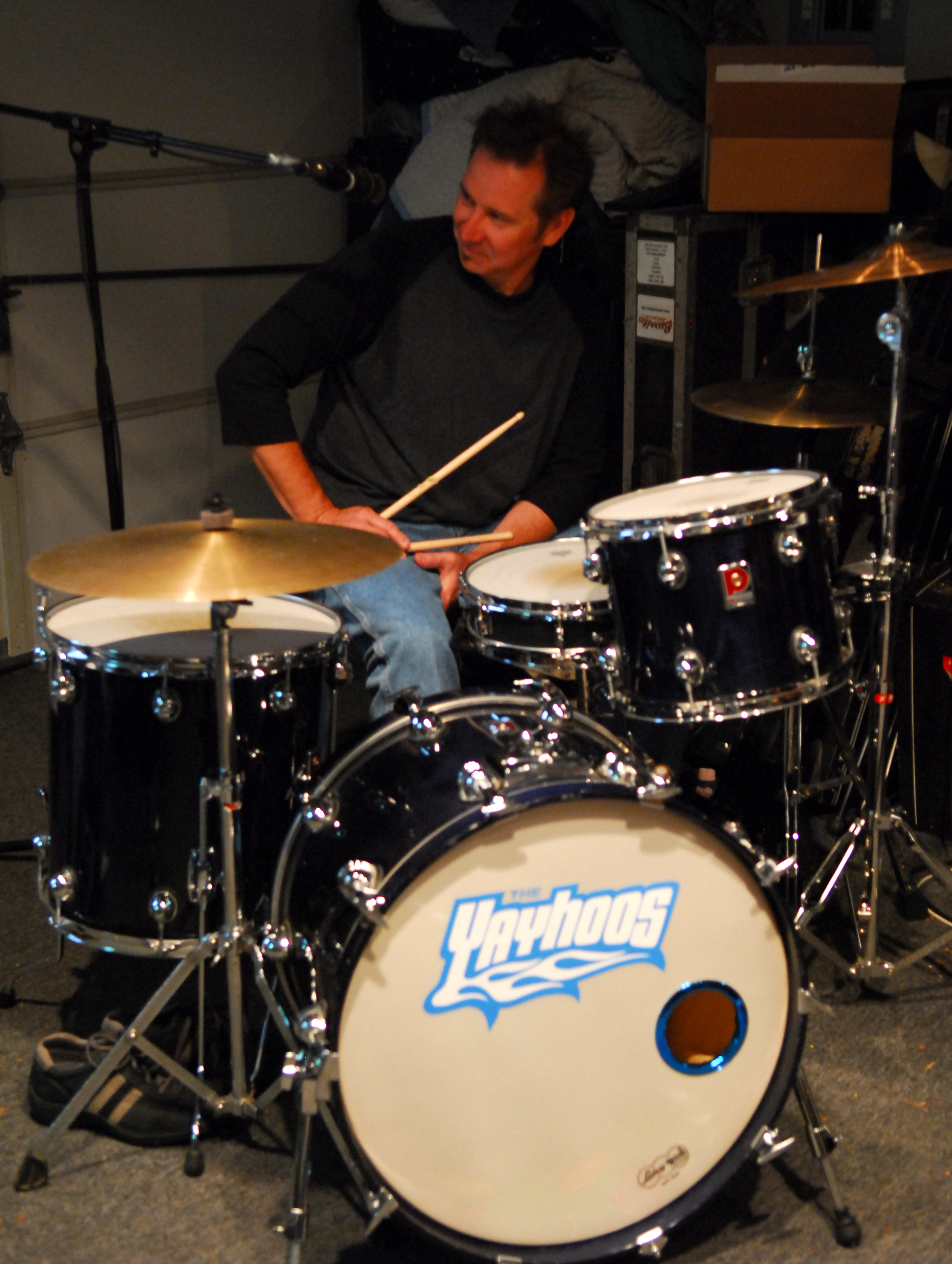 Terry is sharp behind his Premier kit